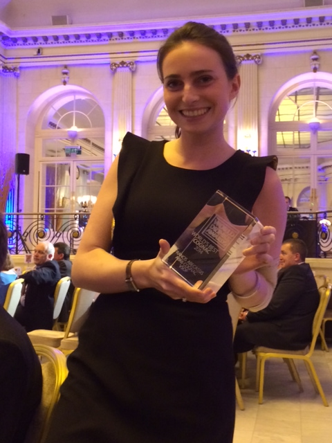 Elodie Abécassis presents the 'The World's Best Cognac 2014' Award