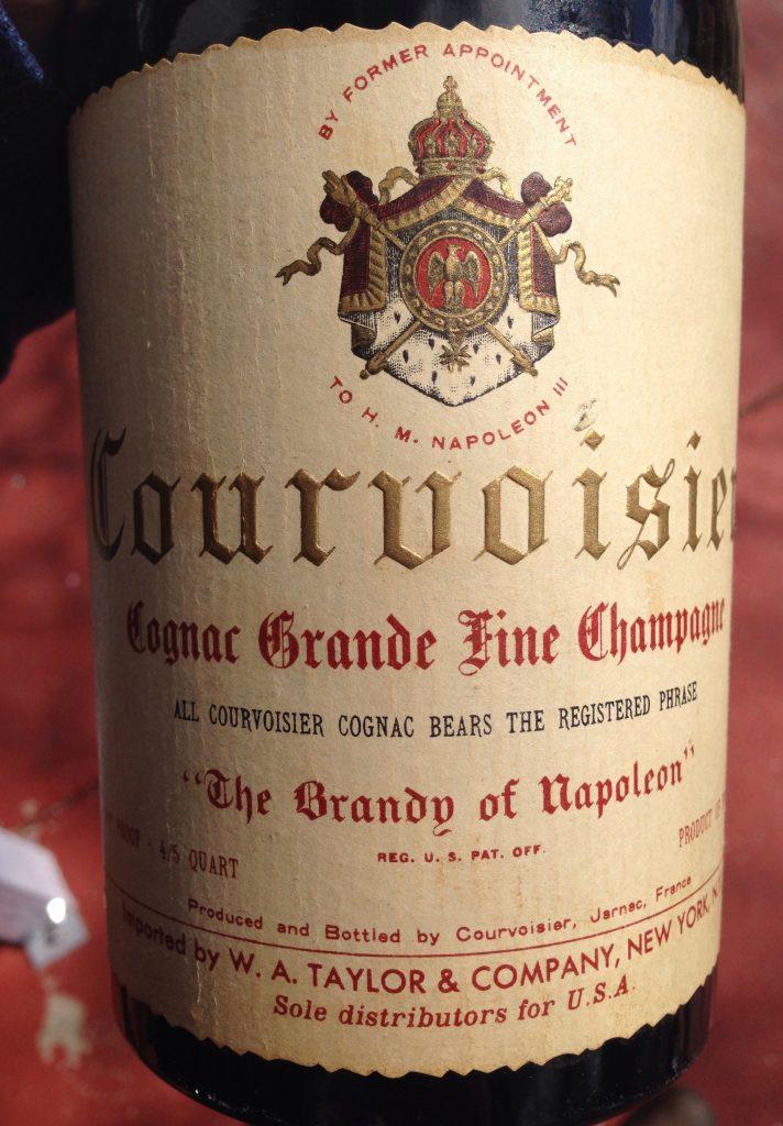 Courvoisier Grande Fine Champagne Cognac