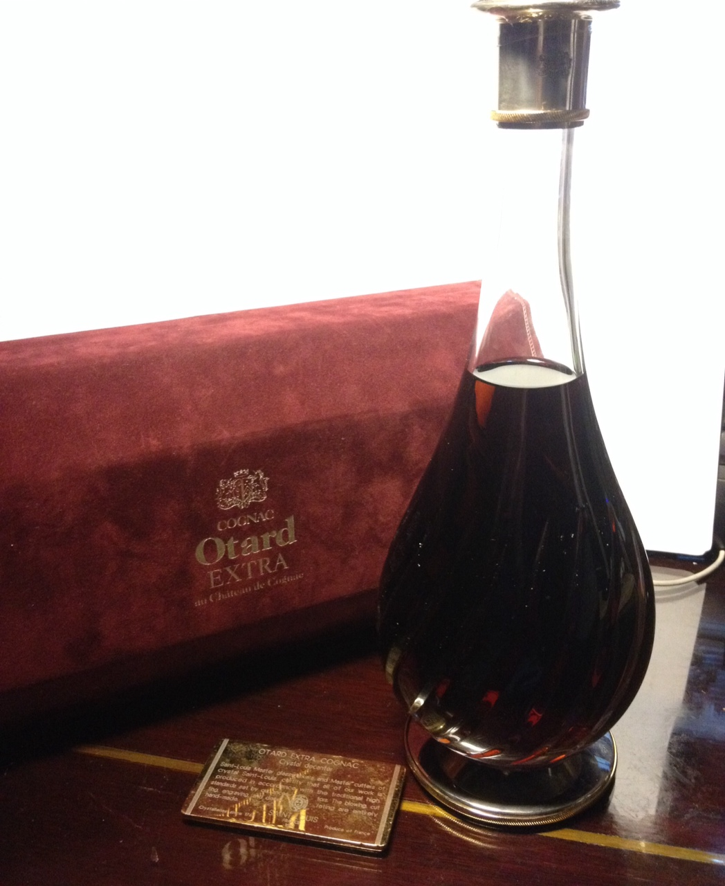 Otard Extra Crystal Decanter