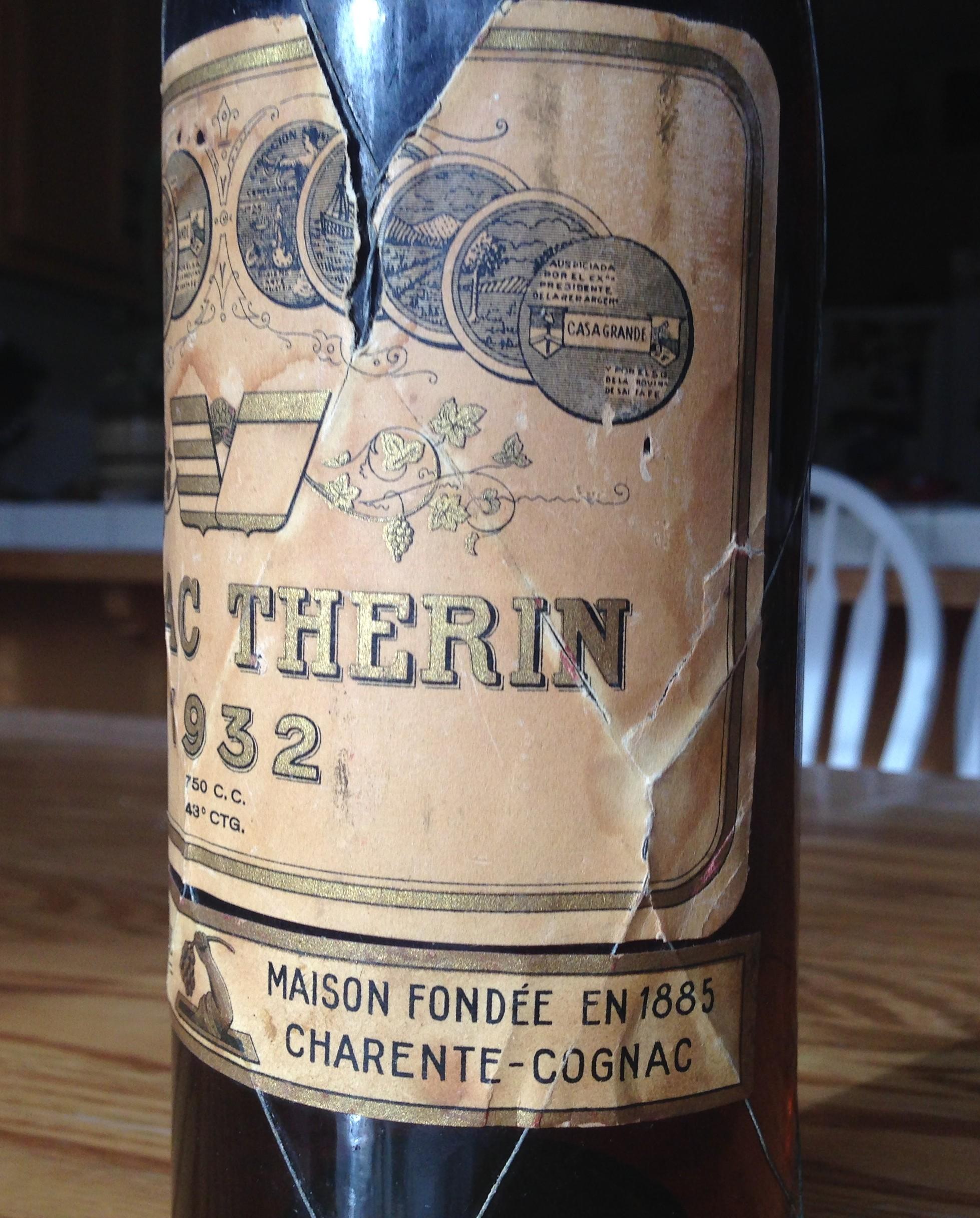 Therin Cognac 1932
