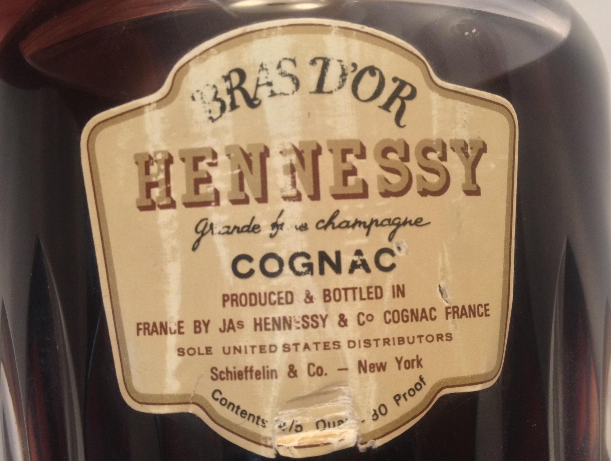 Hennessy Bras D'Or Grande Fine Champagne Cognac