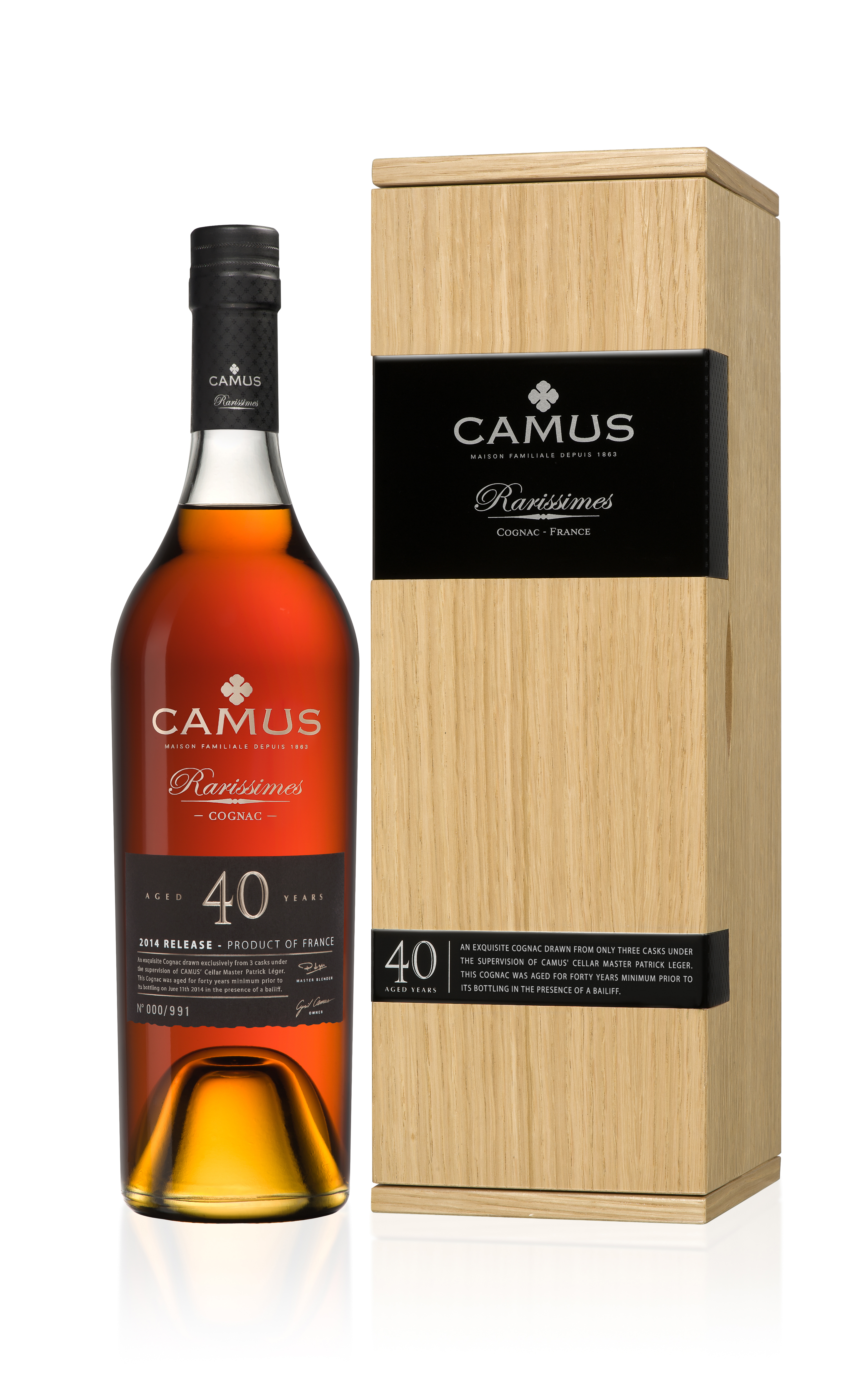 New Product: Camus Rarissimes 40 Year Old Ltd Ed Cognac