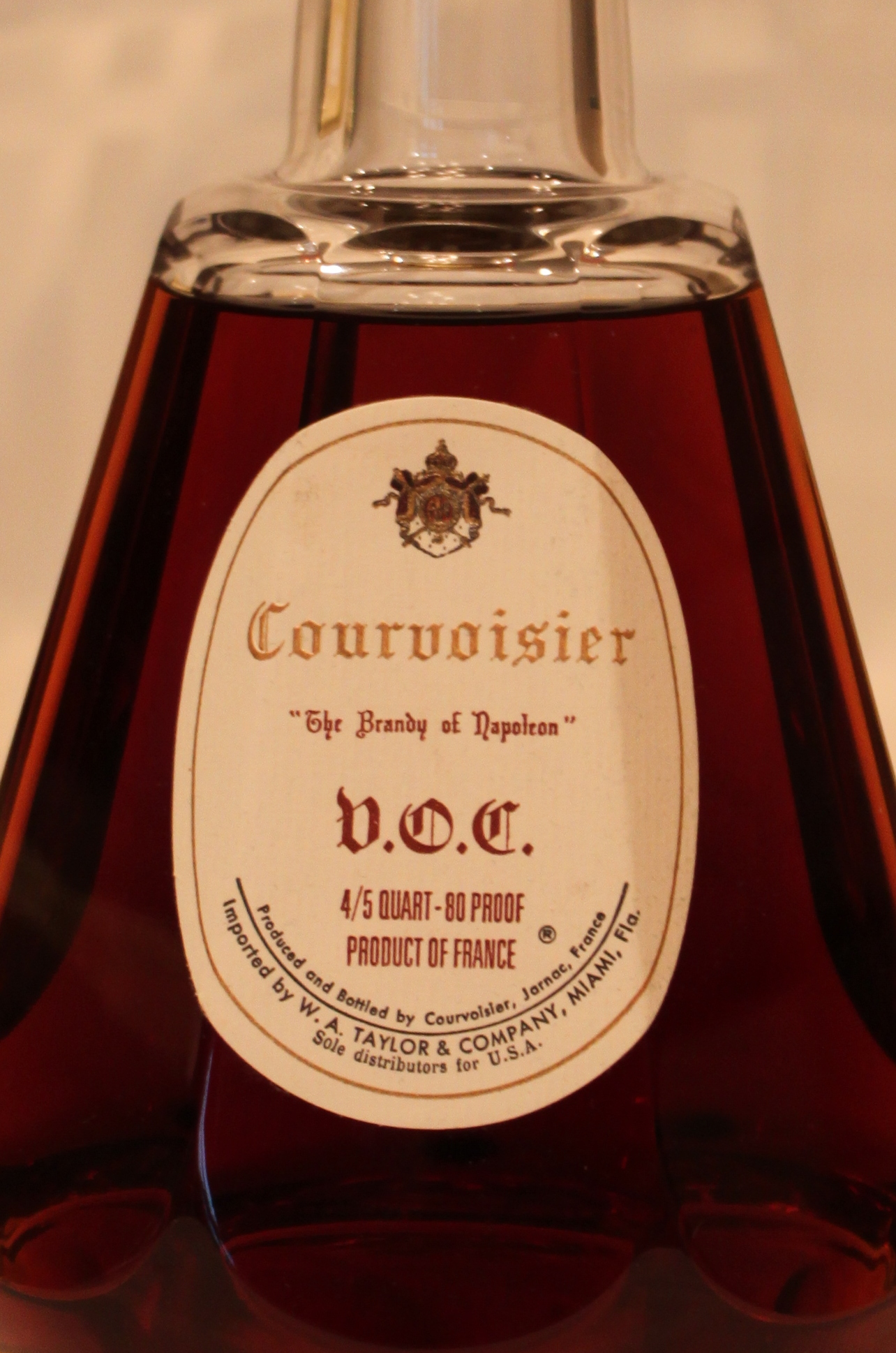 Courvoisier VOC Cognac