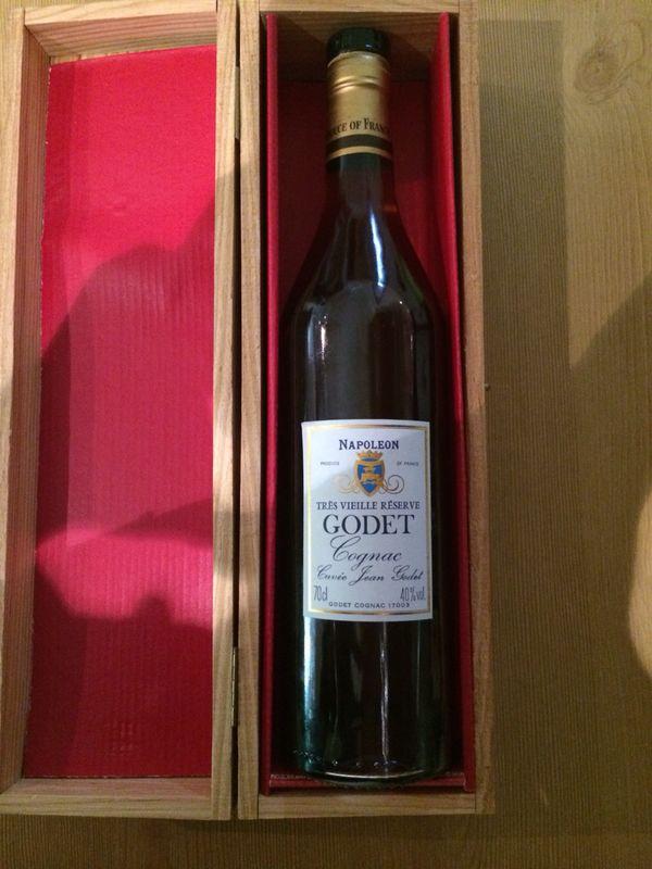 Godet Napoleon Trés Vieille Réserve Cognac