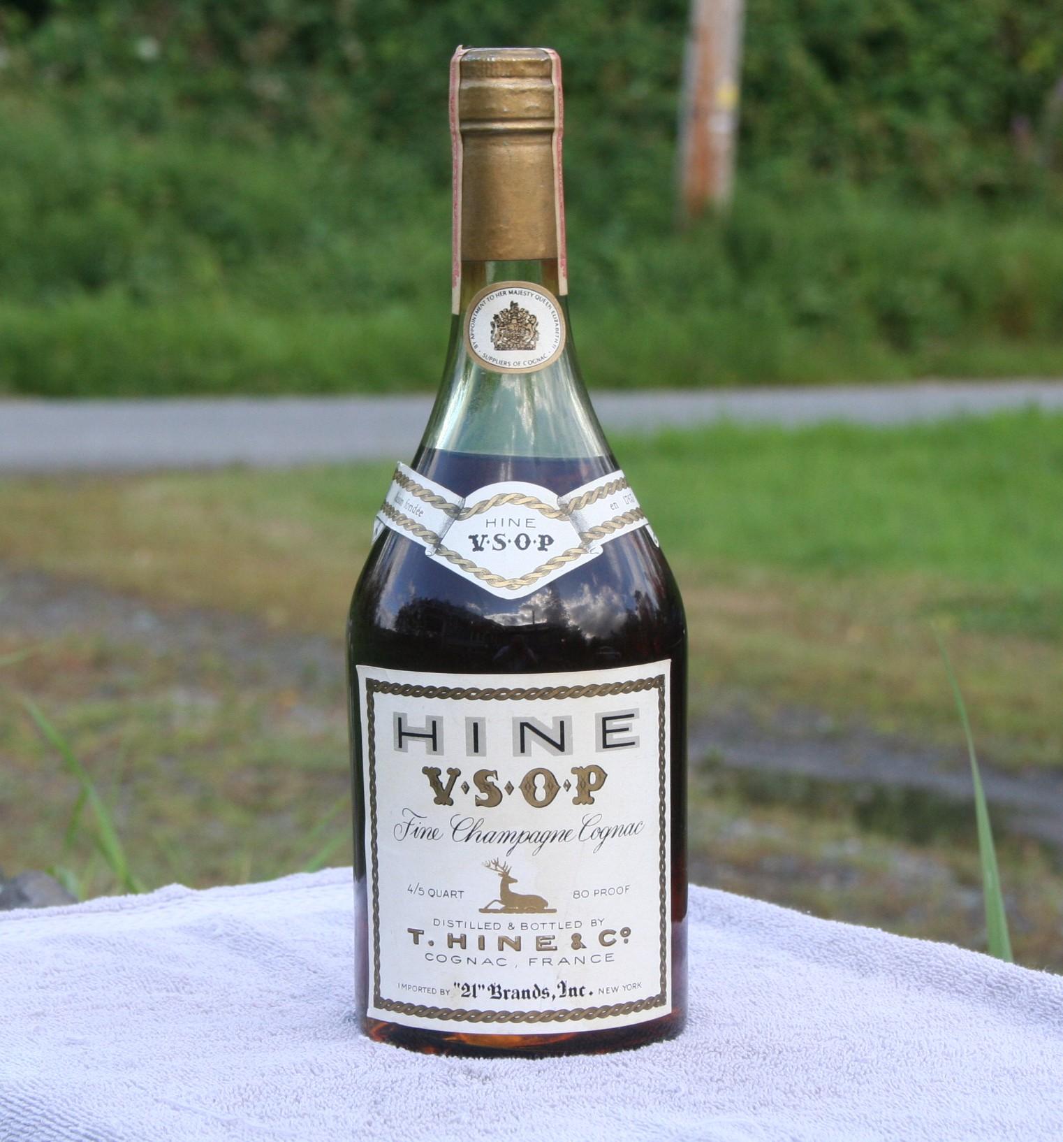 Hine VSOP Fine Champagne Cognac