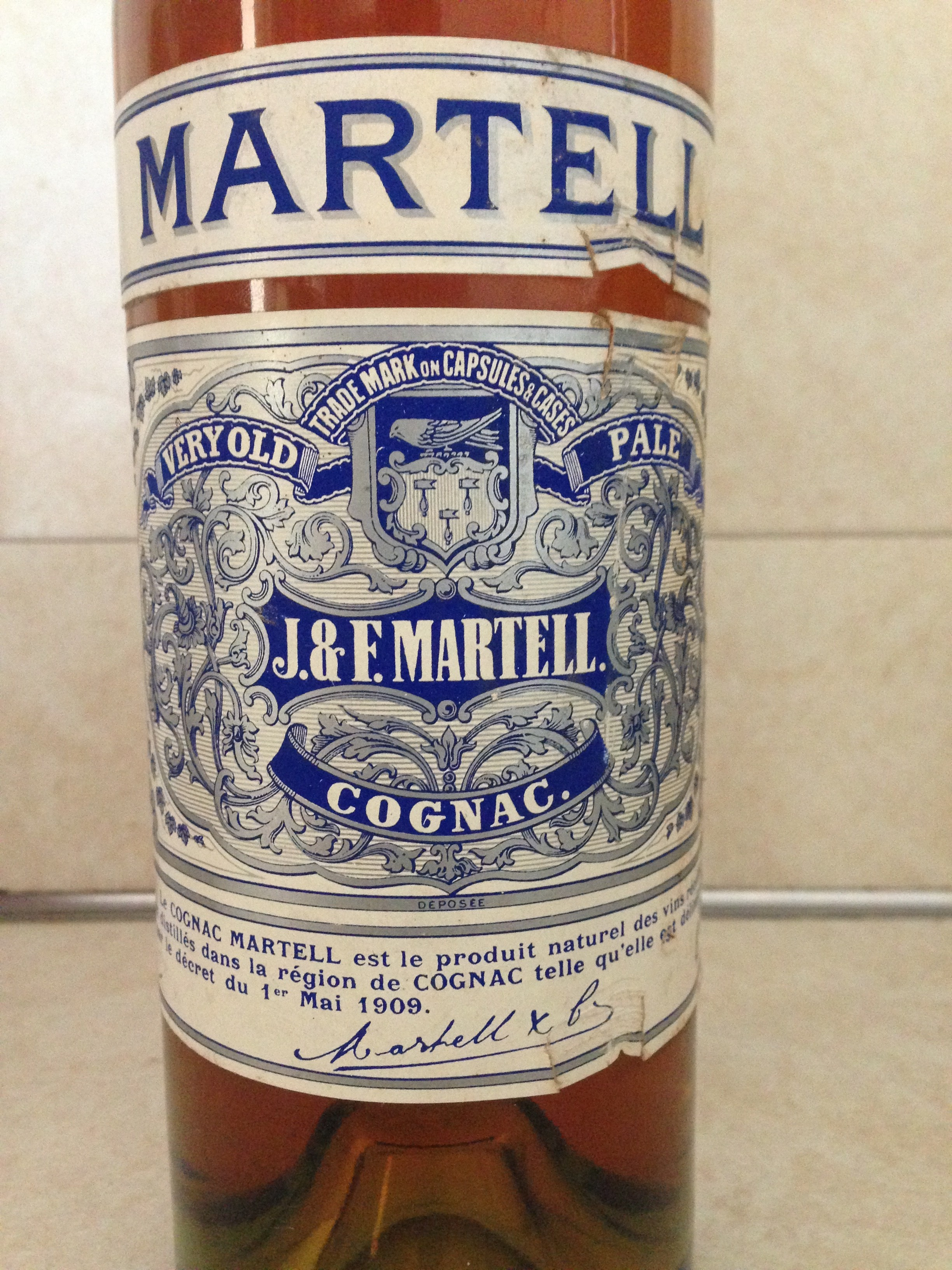 Martell Very Old Pale Cognac