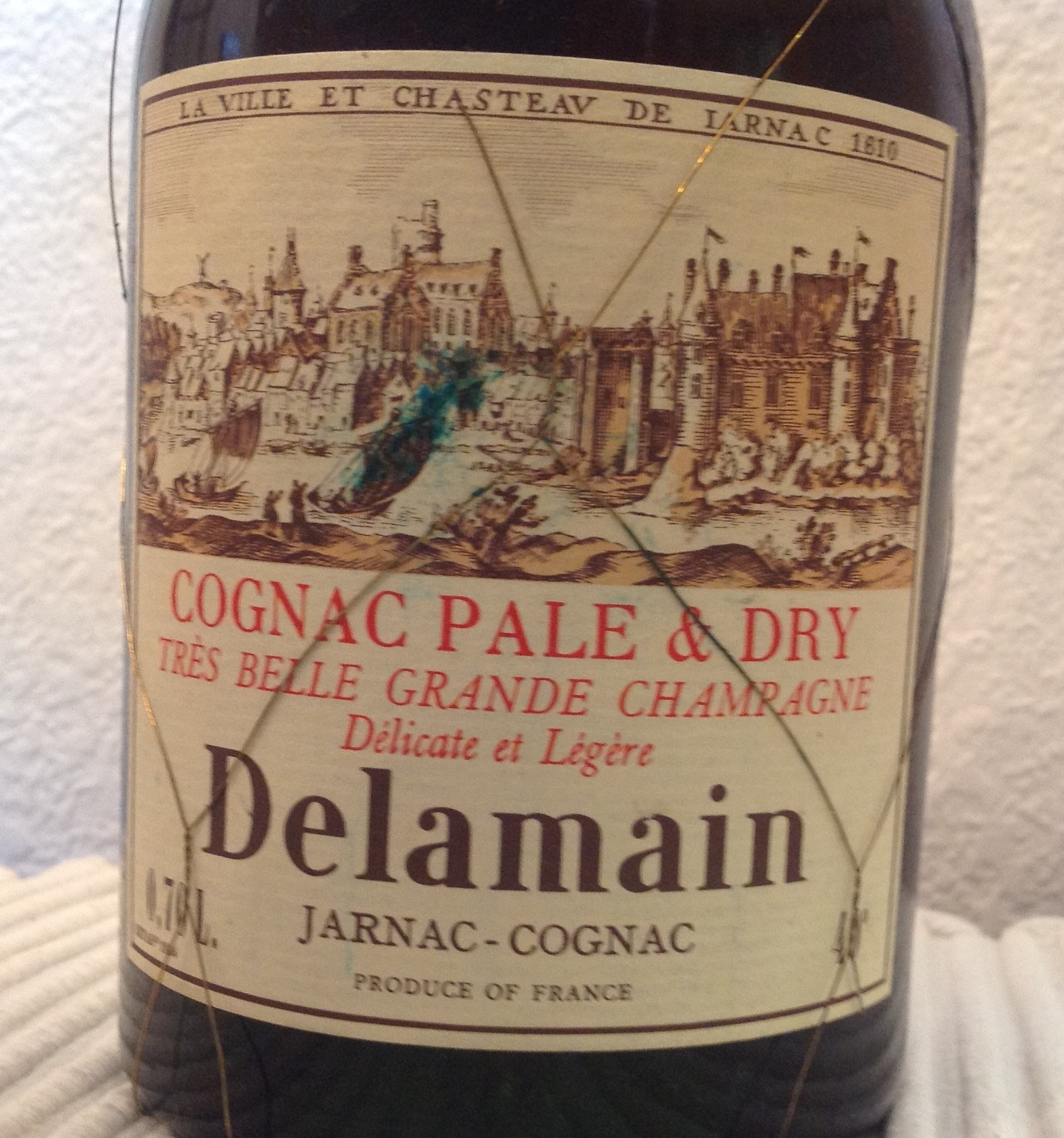 Delamain Pale & Dry Grande Champagne Cognac