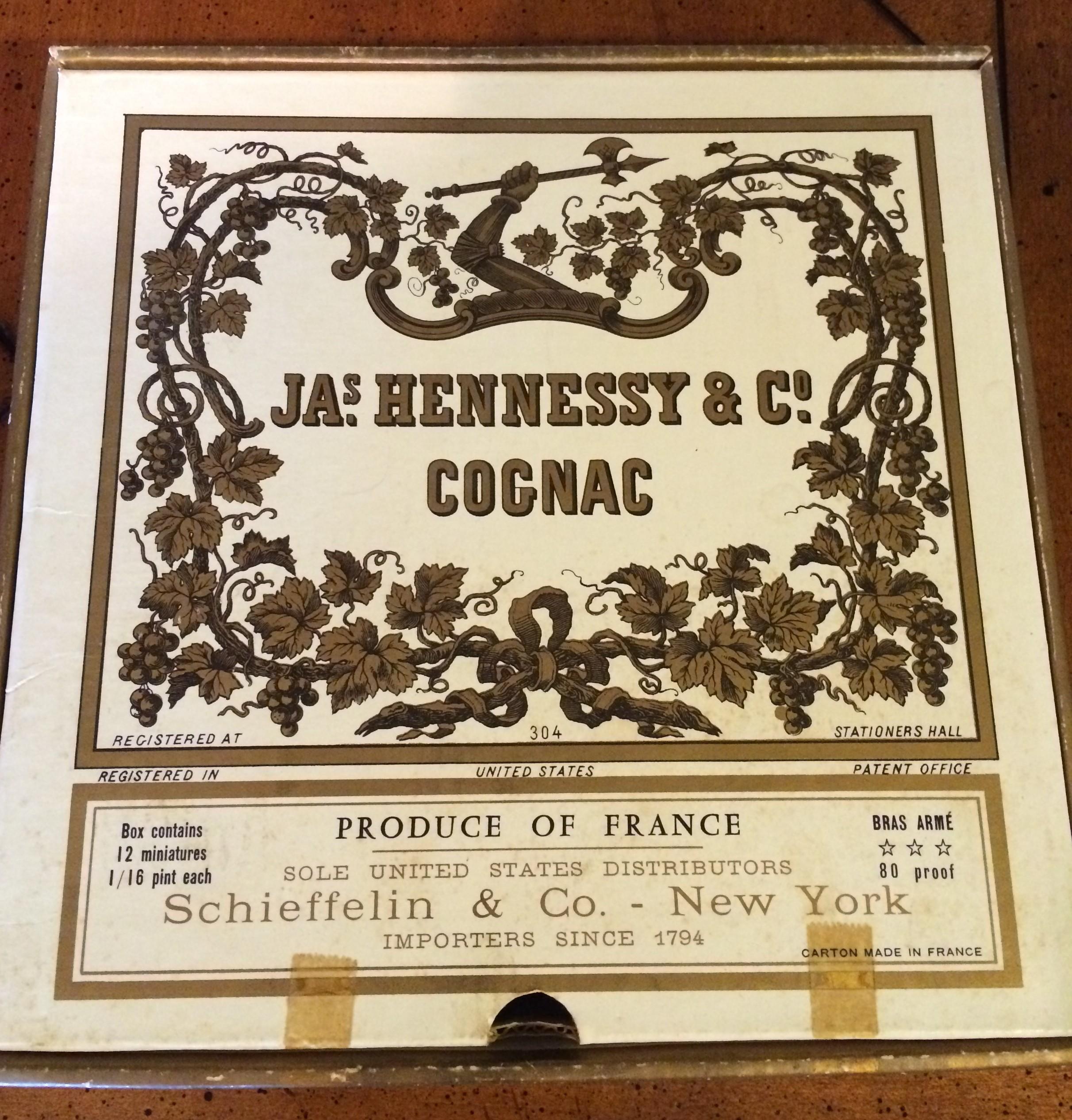 Hennessy Cognac Miniatures Set