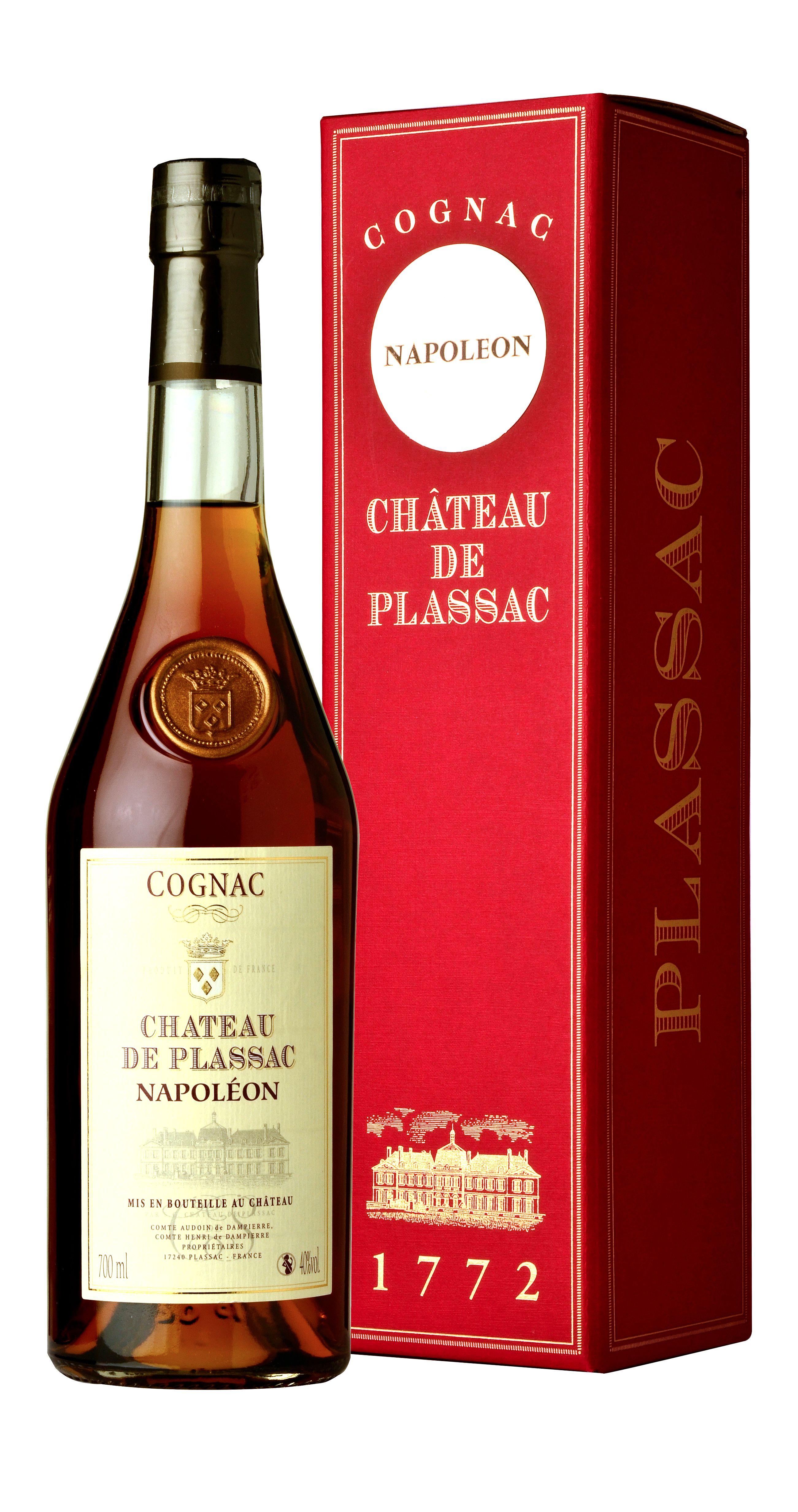 Château de Plassac Cognac Napoleon