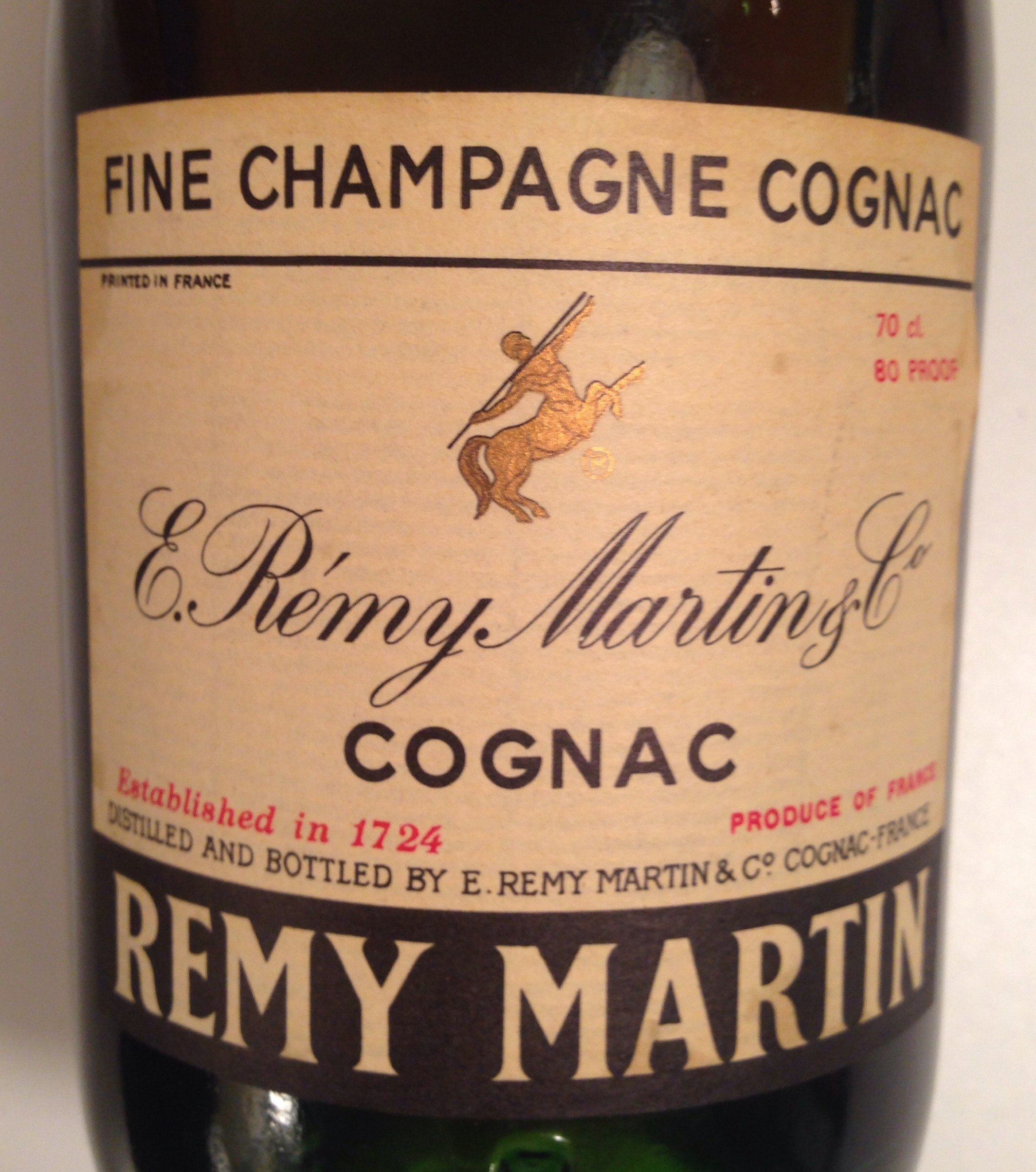 Rémy Martin VSOP Cognac