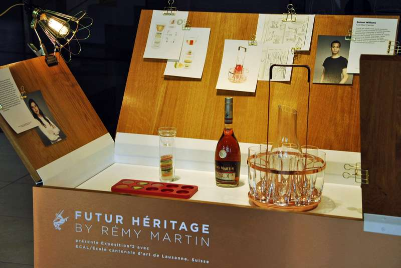 Visiting Rémy Martin at Paris Design Week