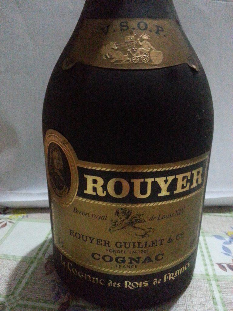 Rouyer Guillet Cognac Brevet Royal de Louis XIV