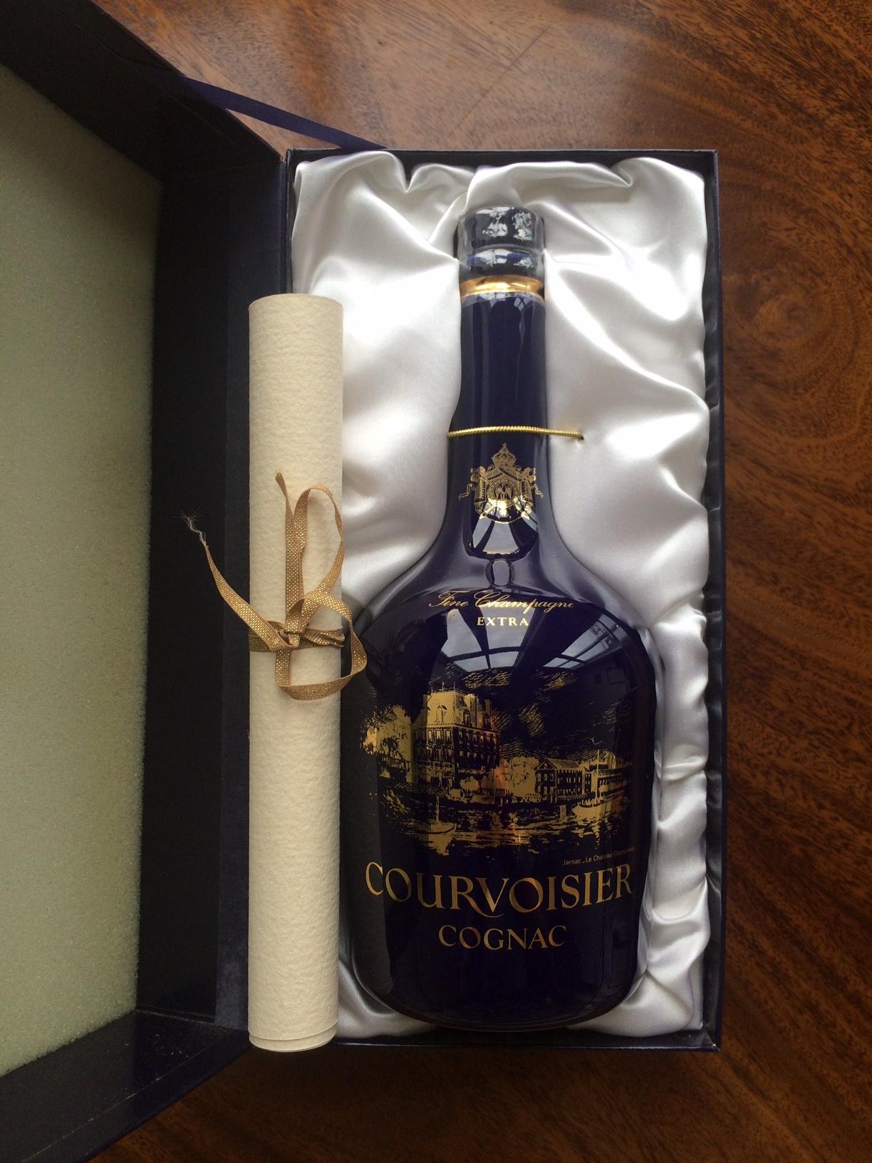 Chateau Limoges Extra Courvoisier Cognac