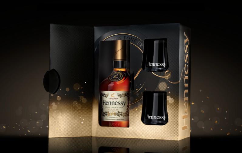 Christmas design for Hennessy VS Cognac