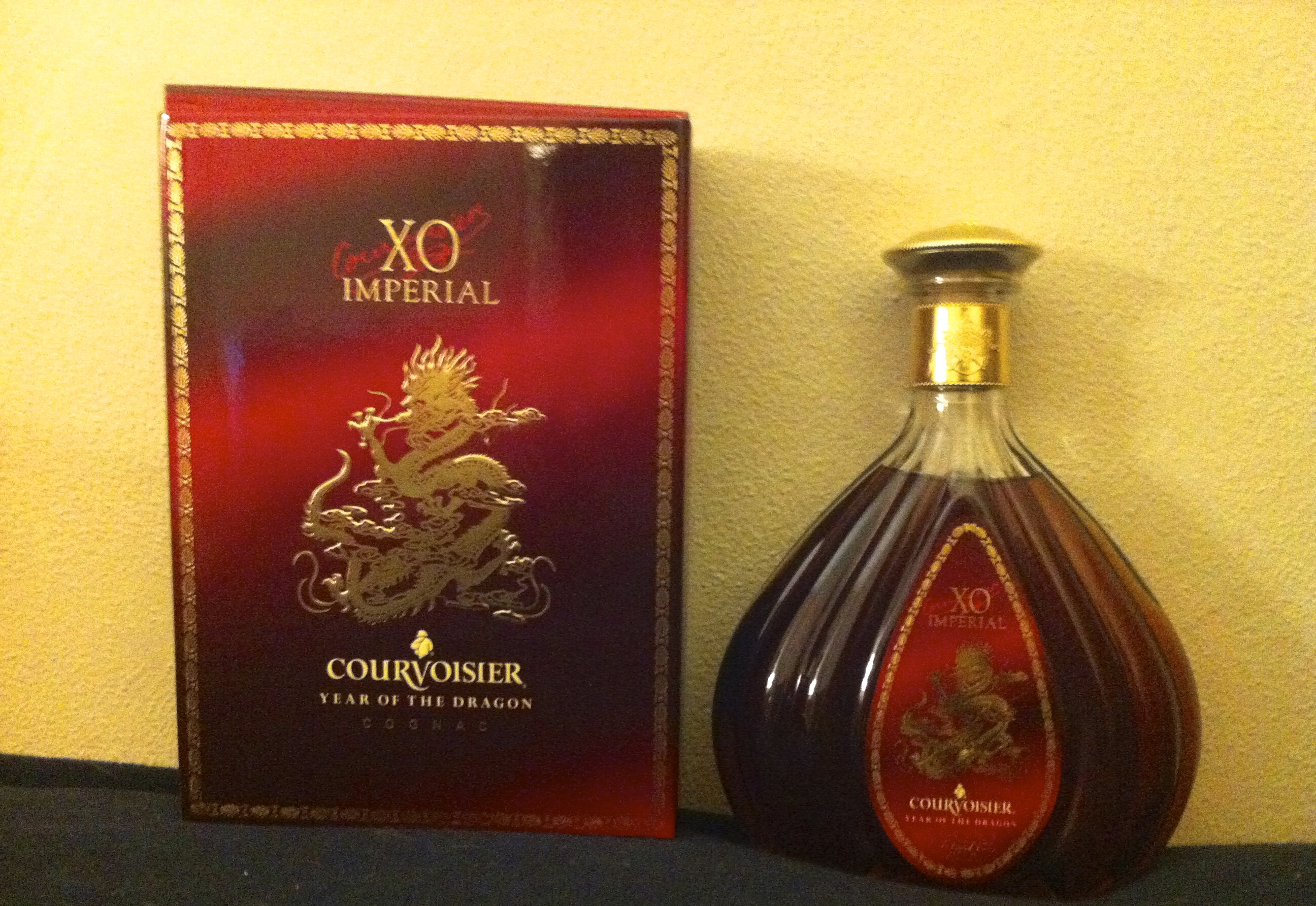 Courvoisier XO Imperial Year of the Dragon Cognac