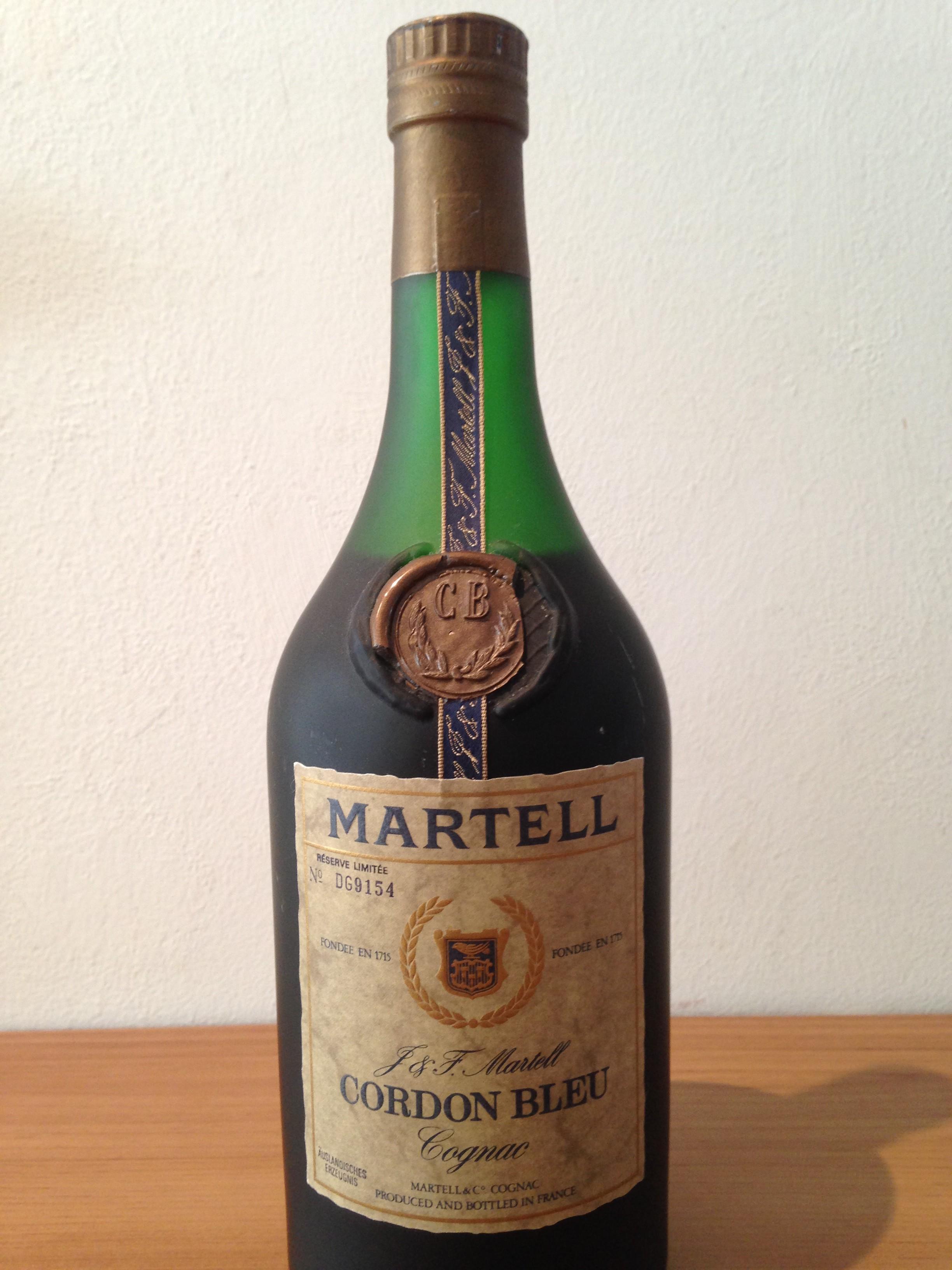 Martell Cordom Bleu