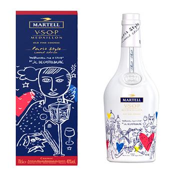Martell VSOP Paris Style Cognac: Limited Edition Release