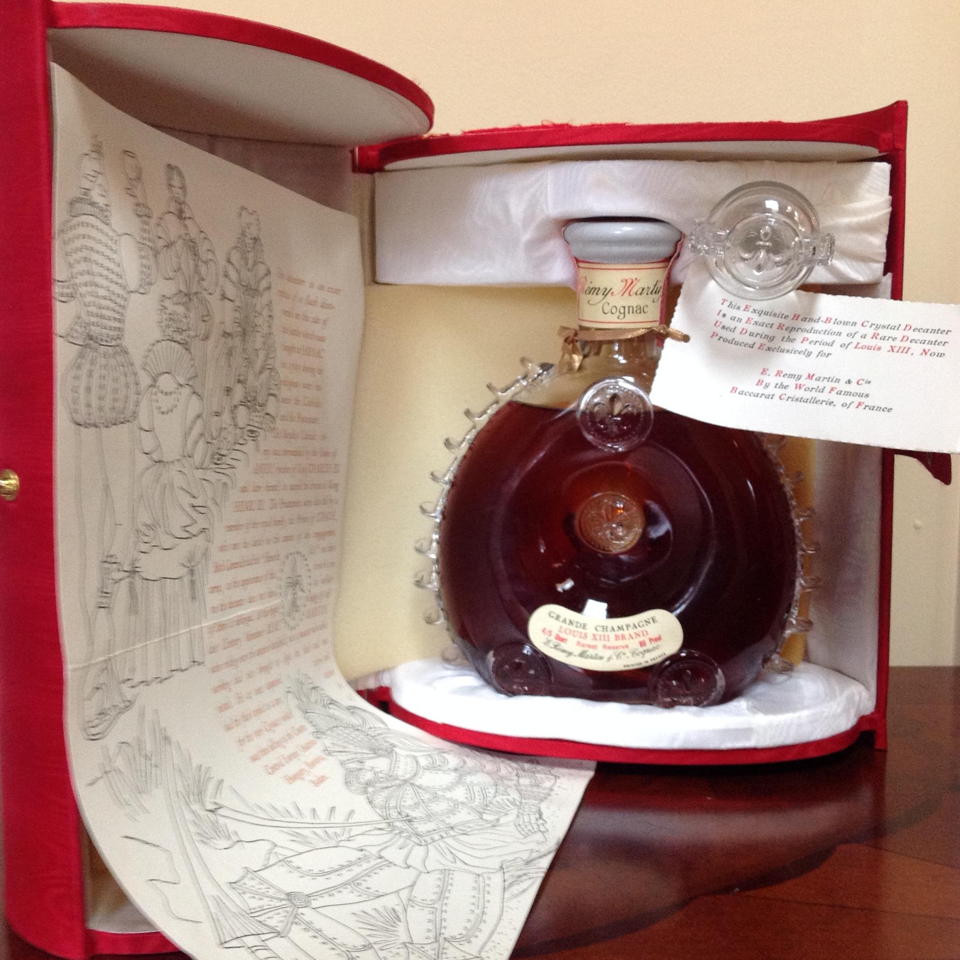 Rémy Martin Louis XIII Grand Champagne Cognac