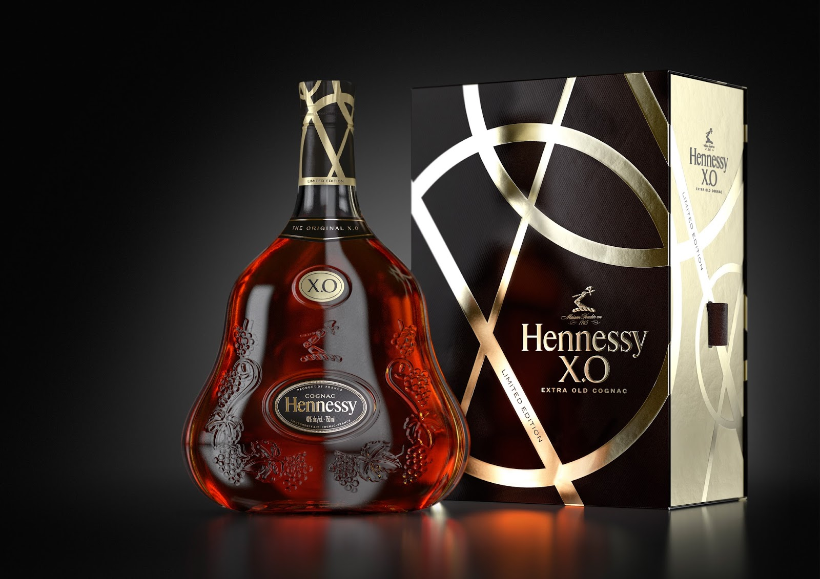 Launching hennessy xo limited edition 2015 cognac expert for Cognac design