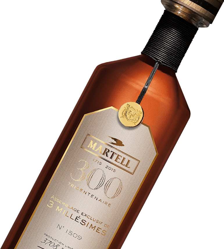 Martell Assemblage Exclusif de 3 Millesimes: 300th Birthday Release