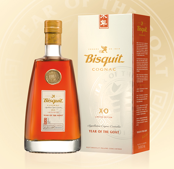 "Bisquit XO ""Year of the Goat"" Limited Edition Cognac"