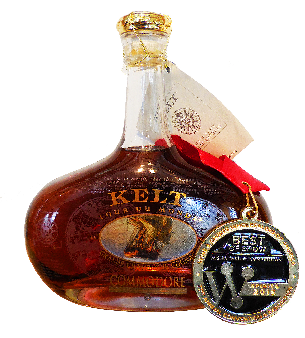 Kelt Cognac takes Top Spot in 2015 WSWA Awards