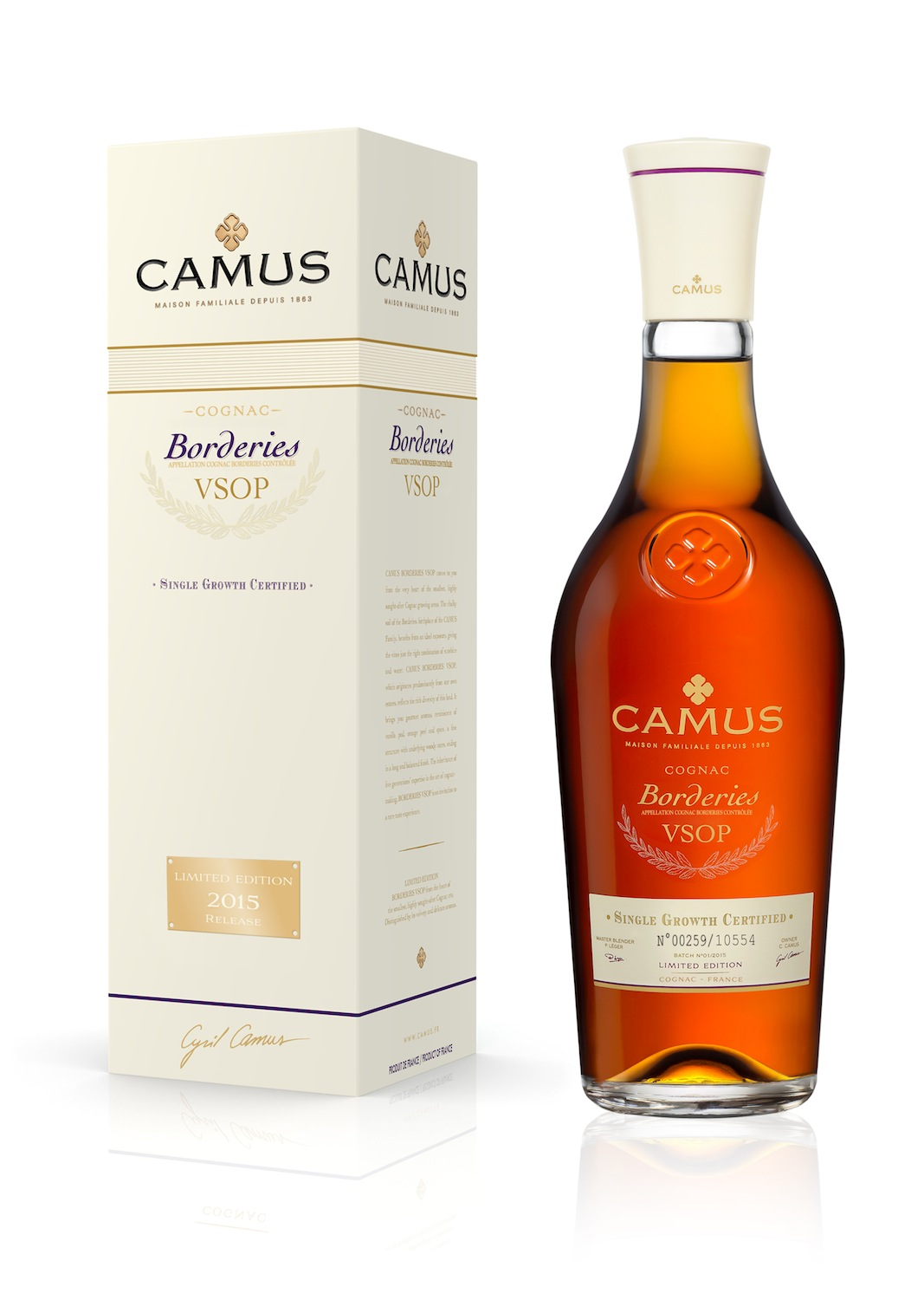CAMUS Borderies VSOP_2015 70CL
