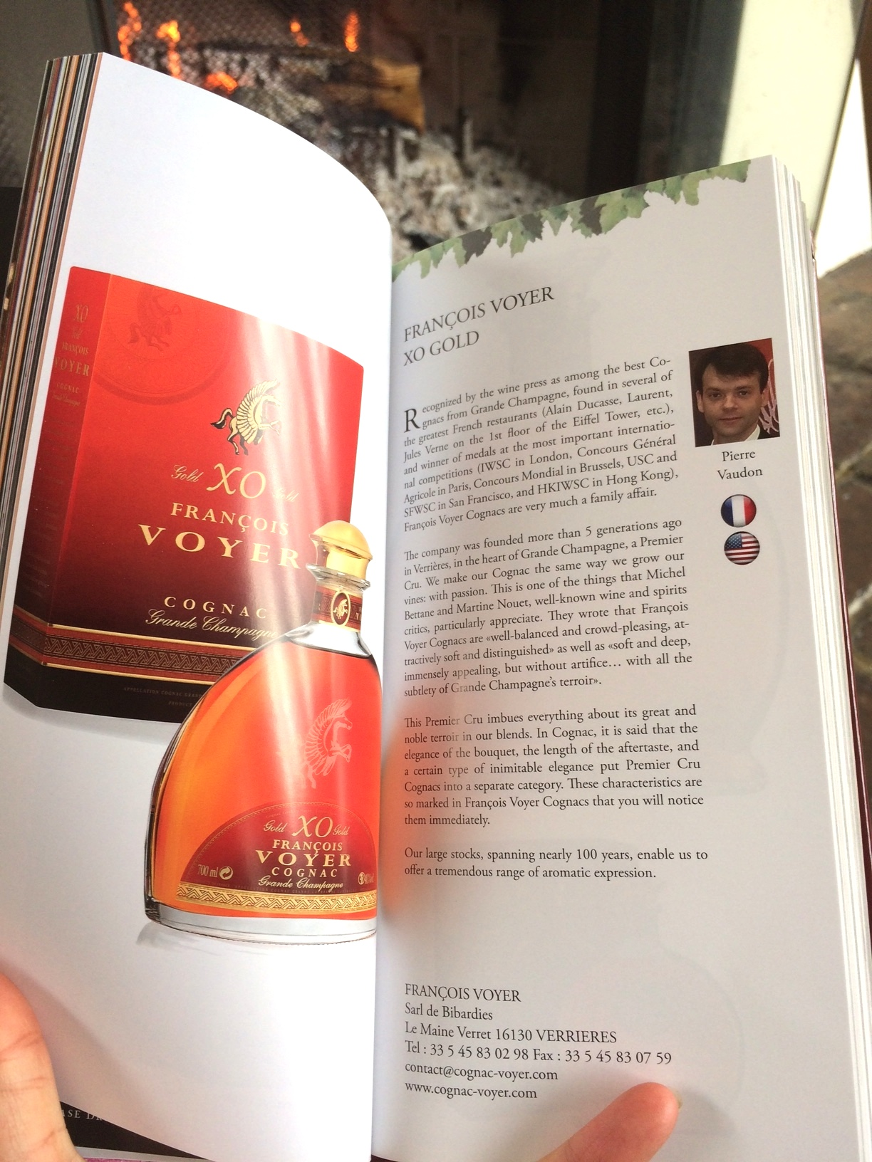 Cognac guide Voyer