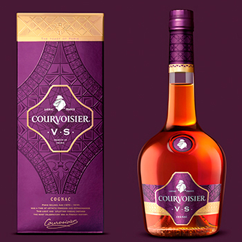 Complete Courvoisier Rebrand Inspired by Parisian History
