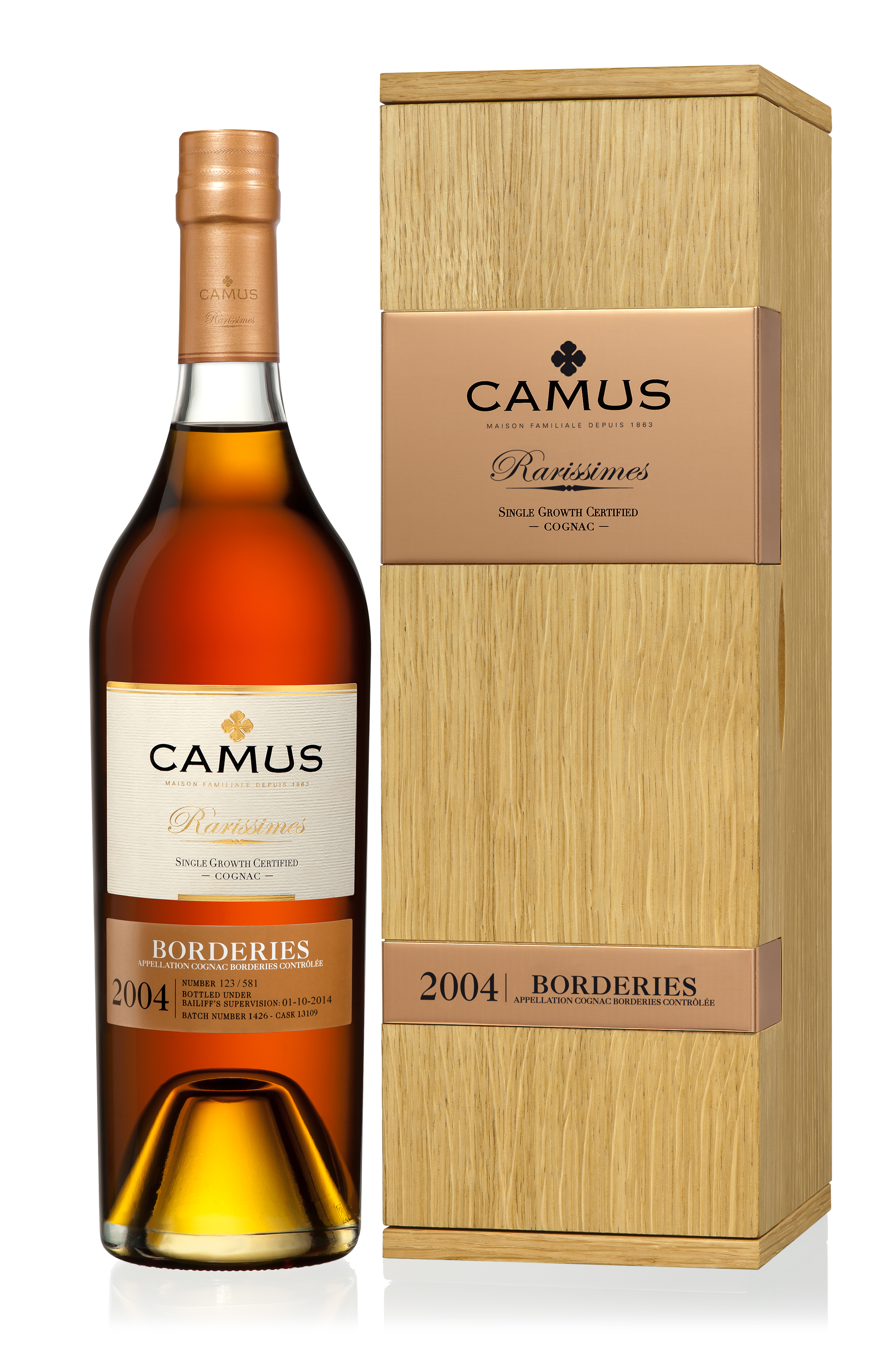 CAMUS RARISSIMES 2004 BORDERIES WITH GIFTBOX
