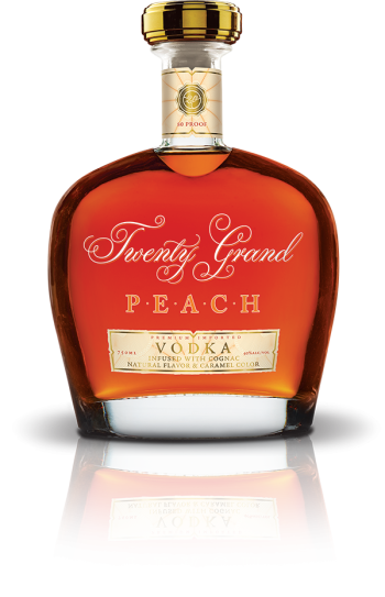 New Product: Twenty Grand Peach – Vodka with Cognac