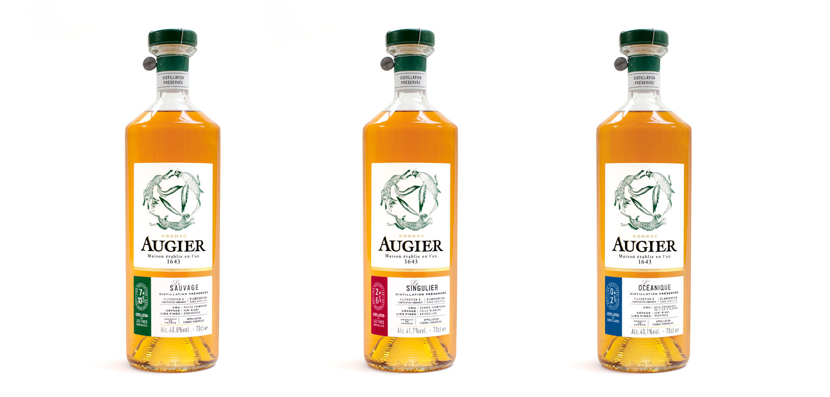 Cognac Augier: New Look, New Home at Pernod Ricard