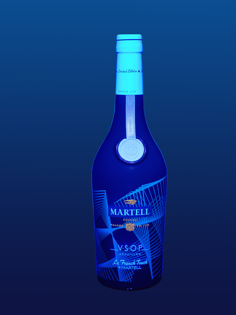 Glows in the dark: Martell VSOP La French Touch Limited Edition by DJ Etienne de Crecy