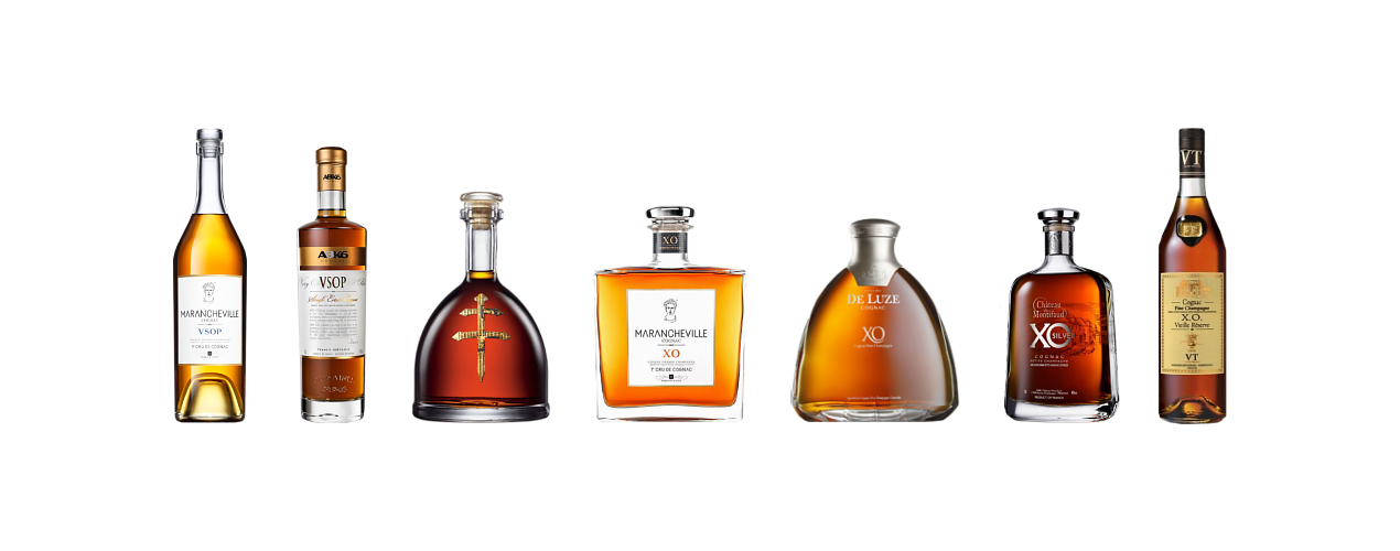 Selection of smooth cognacs