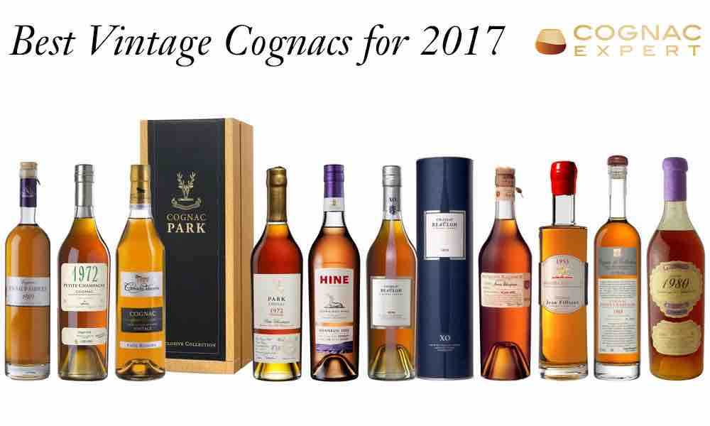 Best Vintage Cognacs for 2017