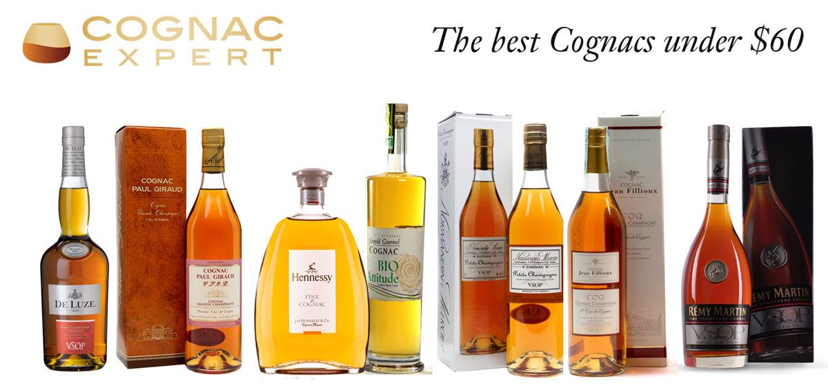 Best-Cognacs-under-60-dollars