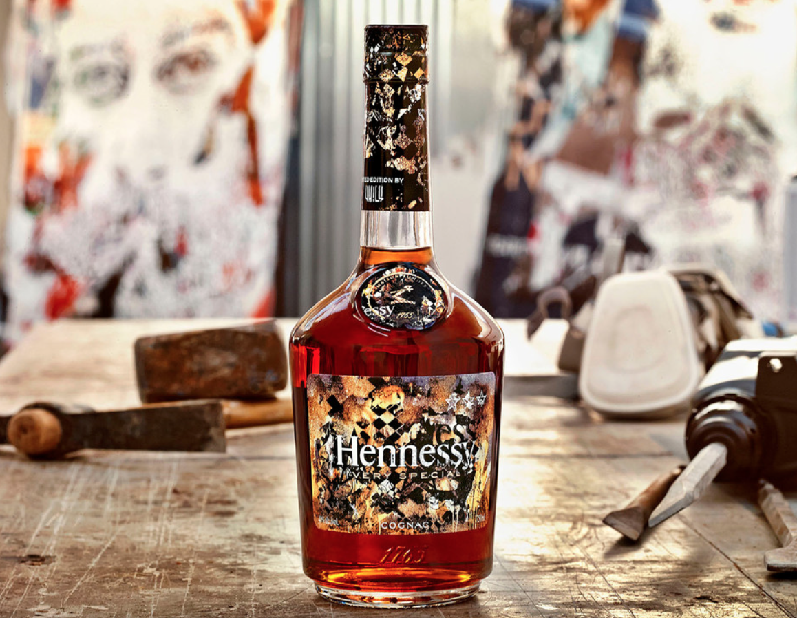Hennessy VHILS Limited Edition VS Cognac: 8th in series
