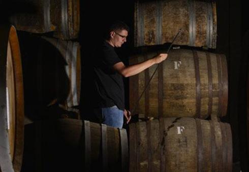 Armagnac cellar
