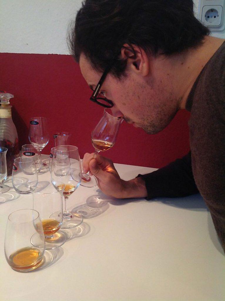Max is tasting Cognac
