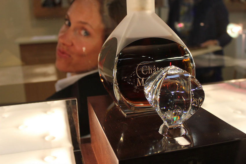 A decanter of Cognac