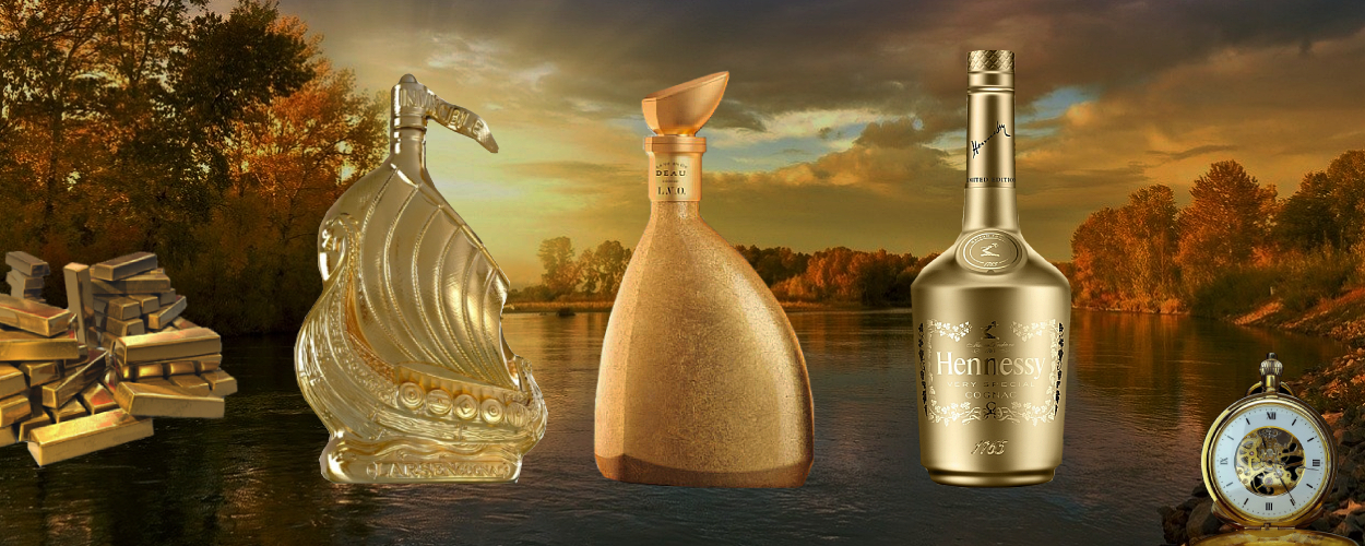 The Story of Gold Inspired Cognacs