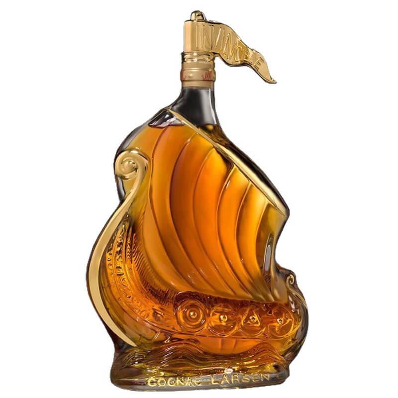 Larsen Viking Ship Gold Cognac