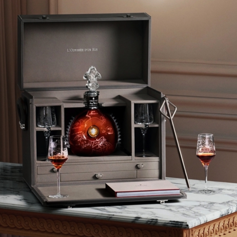 Louis XIII in Hermes box