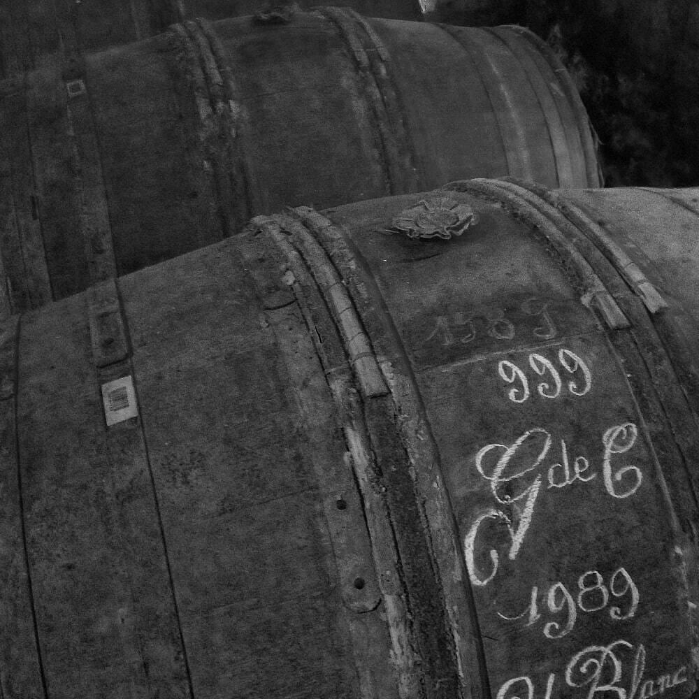 B&W 1989 Grande Champagne Uni Blanc barrel