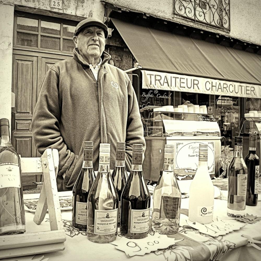 Pineau des Charentes stall