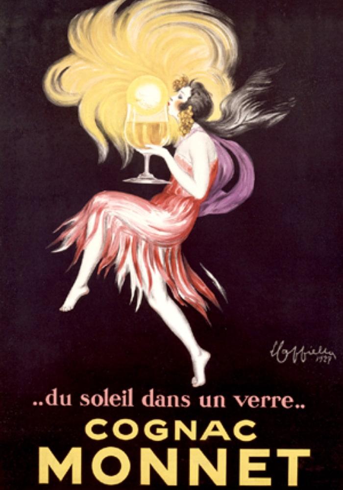 Cognac Monnet ad