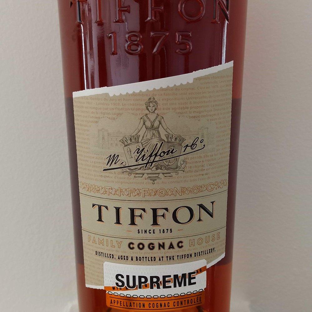 Tiffon Supreme front label