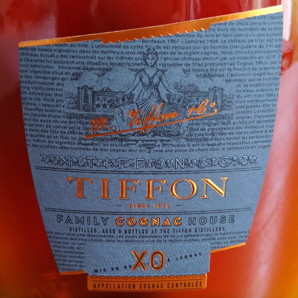 Tiffon XO front label