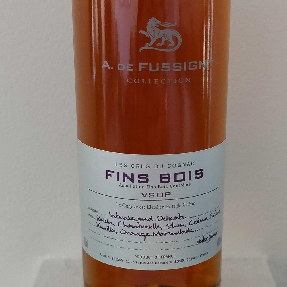 A. de Fussigny Fins Bois VSOP