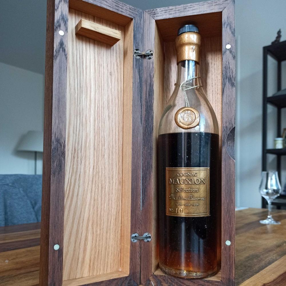 Mauxion Sélection Multimillésimes Cognac in wooden box